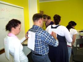 Teilnehmer beim ersten Workshop