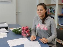 Yasmin an unserem Lichtenberger Standort