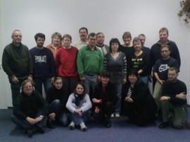 Gruppe Jobhaus mit Ulrich Gehrke