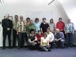 Gruppe Jobhaus Plus mit Rainer Mittelstädt